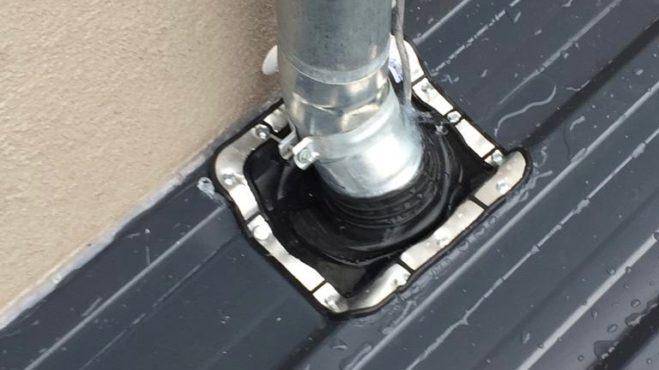 Carport Dachkonstruktion Dichtmanschette