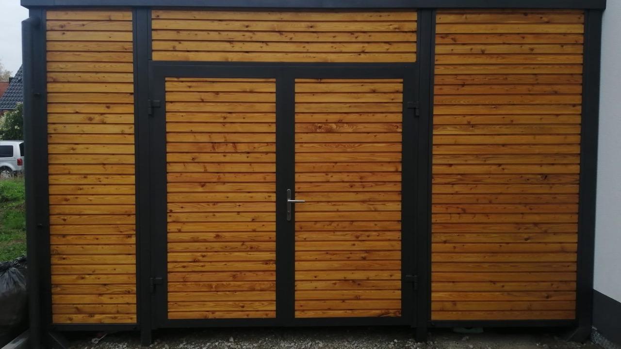 Carport Einzelcarport - Carportmaster Projekt 20-F-2887 - 91353 Hausen - Carportbild 02