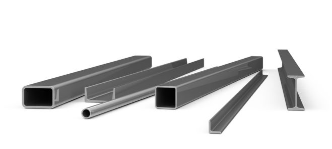 Carport Stahlkonstruktion - Stahlprofile