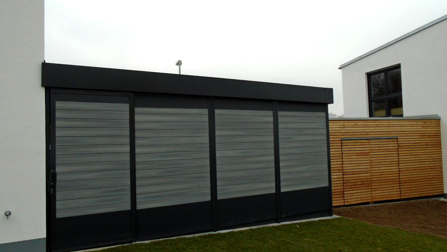 Carport mit Eingangsüberdachung - Carportmaster Projekt 15-P-1016 - 90587 Veitsbronn - Carportbild 02