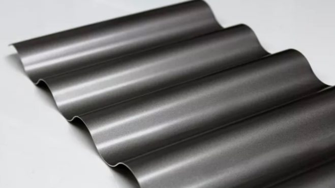 Carport-Verkleidung mit Wellblech aus Stahl