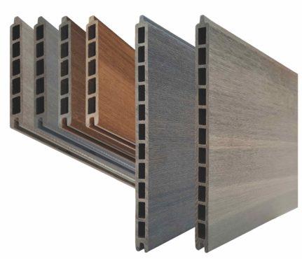 WPC-Planken Hohlkammer-Profile 150 + 300