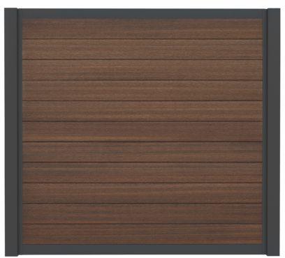 WPC-Planken Hohlkammer-Profil multiwild-brown