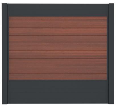 WPC-Planken massiv cinnabar