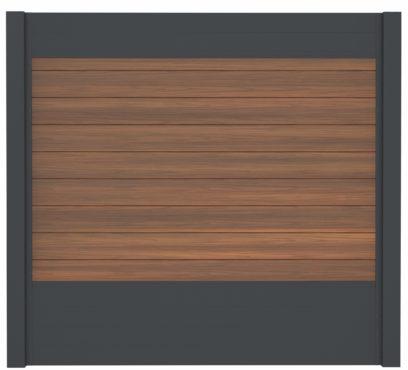 WPC-Planken massiv ipé