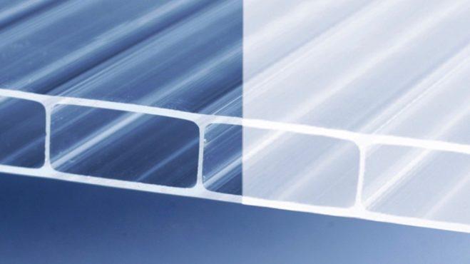 Acrylsmart-Steg-Doppelplatte
