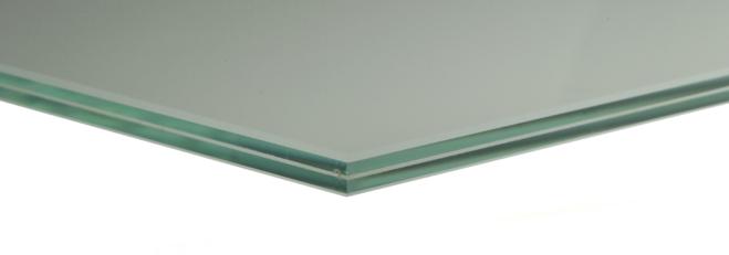 Verbundsicherheitsglas VSG / TVG 2 Scheiben 6mm mit Zwischenschicht aus Folie