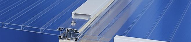 Carportdach Verlegesystem Aluminium Plexiglas ALWO