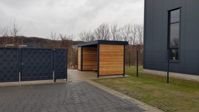 Fahrradschuppen - Carportmaster Projekt 21-P-3028 - 42329 Wuppertal - Bild 01