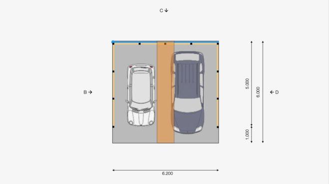 Service CAD - Layout Draufsicht